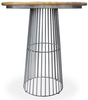Robin Industrial Dining Room Furniture Round Bar Table