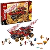 LEGO 70677 NINJAGO Land Bounty Vehicle, Action-packed Set with Snake Queen, Masters of Spinjitzu Playset