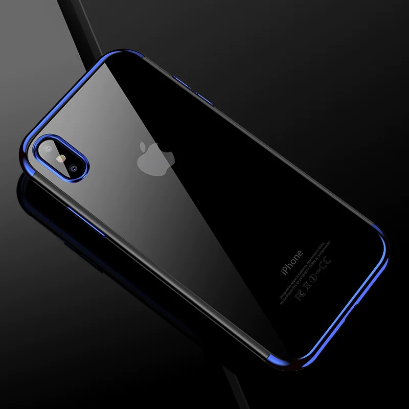 Transparent Shell iPhone X Case