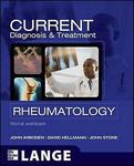 Current Diagnosis  Treatment in Rheumatology Third Edition by John ...