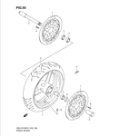 Axle, front - 54711-35F00-000