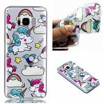 Qiaogle Phone Case - Soft TPU Silicone Case Cover Back Skin for Samsung Galaxy S8 (5.7 inch) - YY30 / Unicorn